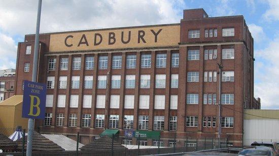 Cadbury World: The Building