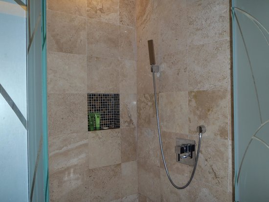 Paradisus Playa del Carmen La Perla: Shower with Double rainhead