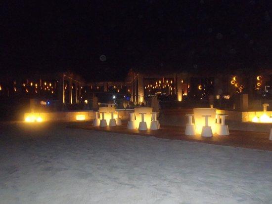 Paradisus Playa del Carmen La Perla: Gabi Club at night