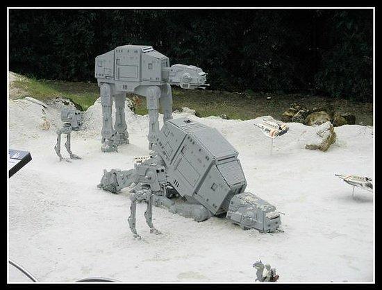 LEGOLAND Florida Resort: Star Wars display