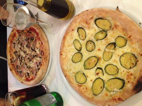Al Bacio: Pizze!