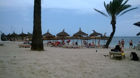 El Hana Hannibal Palace Hotel: Plaża