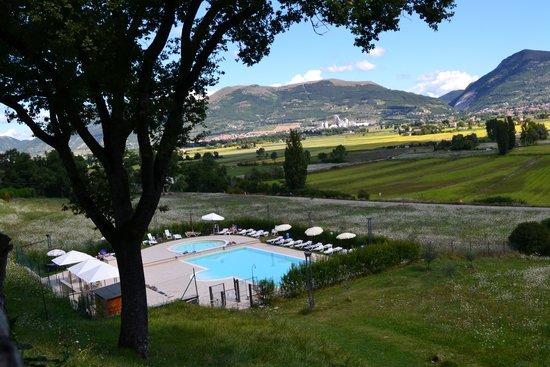 Hotel Villa Montegranelli : vista dalla camera
