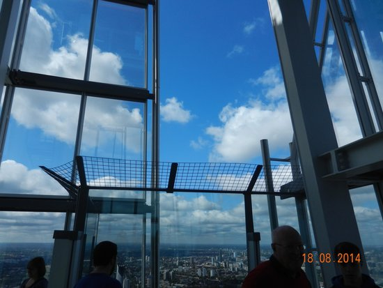 The View from The Shard: Open to the fresh air