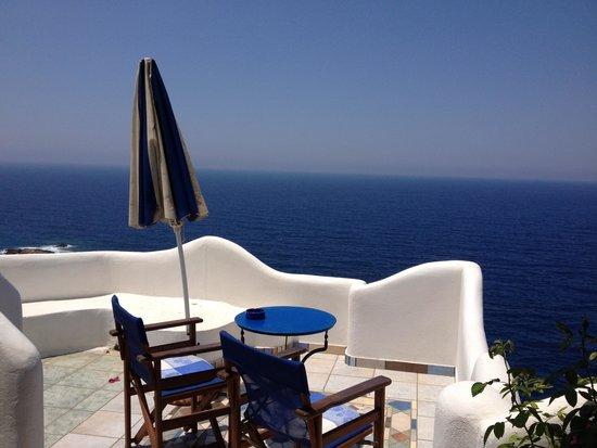 Villa Dimitri : Vue depuis la terrasse