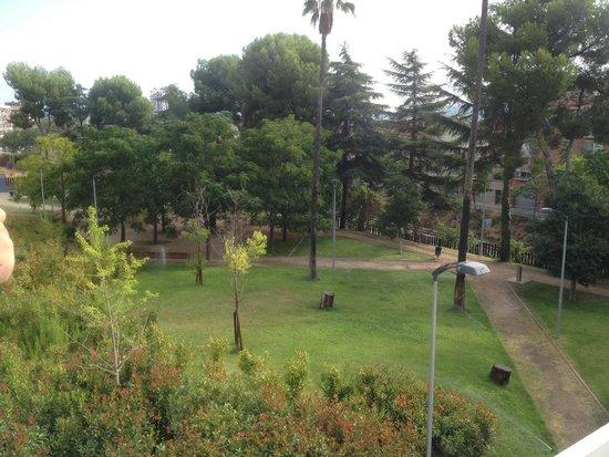 Sercotel Ciutat de Montcata: Jardin