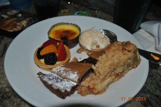 Le Village Buffet at Paris Las Vegas : sobremesa