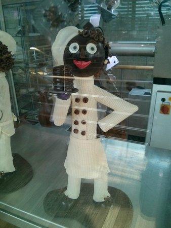 Imhoff-Schokoladenmuseum: Chocolte figure