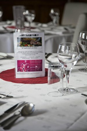 Restaurant at The Castle of Brecon Hotel: Restaurant