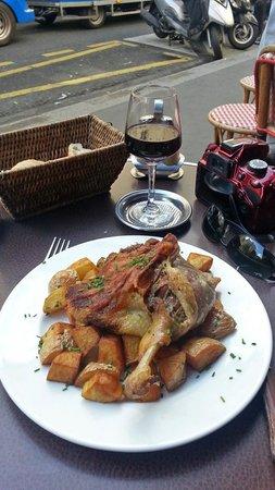 Cafe Le Buci: confit de canard