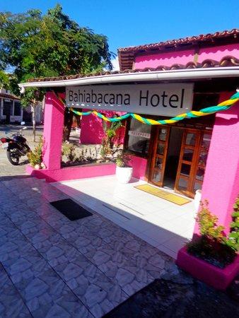 Bahiabacana Hotel: entrada