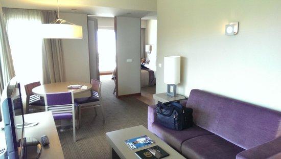 Melia Madeira Mare Resort & Spa: Master Suite Room 625 - Lounge