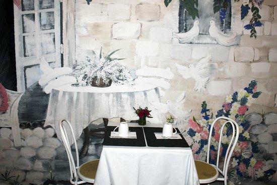 New Hotel Candide: Salle petit-déjeuner