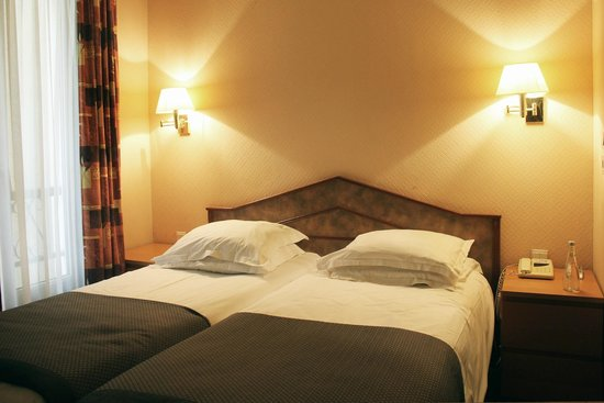 New Hotel Candide: Chambre Twin