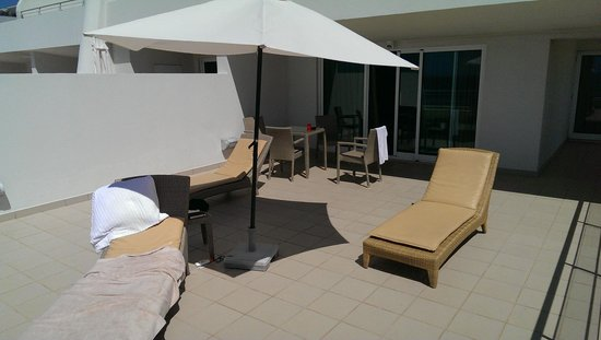 Melia Madeira Mare Resort & Spa : Master Suite Room 625 - Veranda
