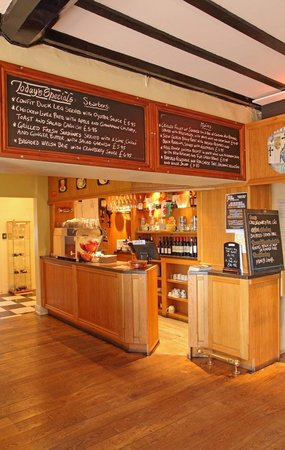 Restaurant at The Castle of Brecon Hotel: bar/coffe bar