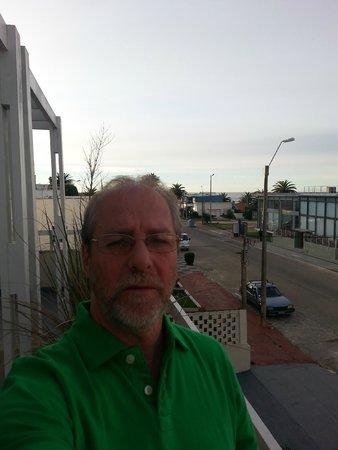 Atlantico Boutique Hotel: EU NA VARANDA