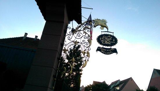 Le Parc Hotel Restaurant & Spa: Belle enseigne