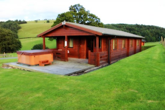 Trewythen Lodges: Bluebell lodge