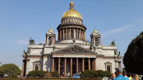 The Museum Complex The State Museum St. Isaac's Cathedral: outside