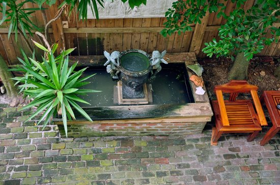 R&B Bed and Breakfast: Courtyard Pond