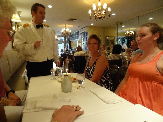 Patsy's Italian Restaurant : Very attentive service.