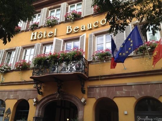 Hotel Beaucour: Hotel Eingangsbereich