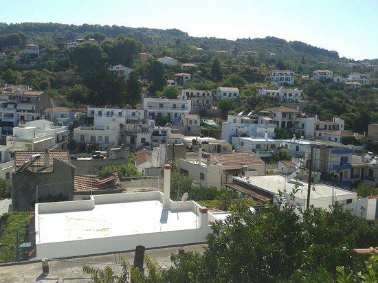 Stella Rooms: Vista dalla terrazza