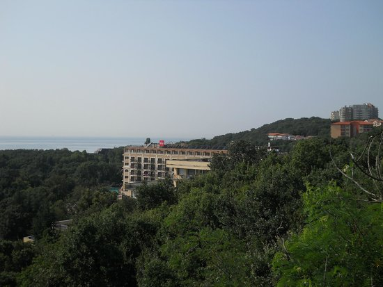 Pliska Hotel: View from 905