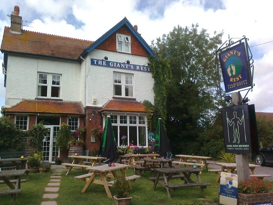 The Giant's Rest with the updated pub signs