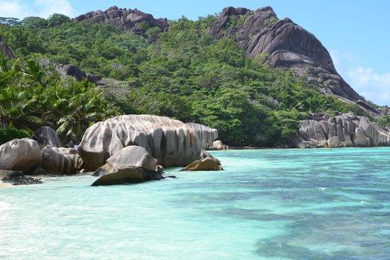 Anse Source D'Argent : la spiaggia