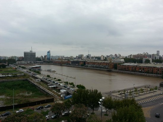 Hotel Madero : Vista desde el balcón