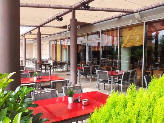 Novotel Barcelona Cornella: la terrazza