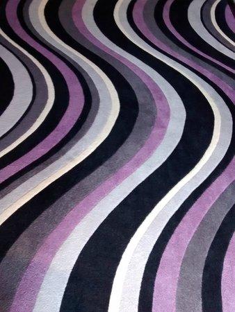 Horizon Hotel hall carpeting
