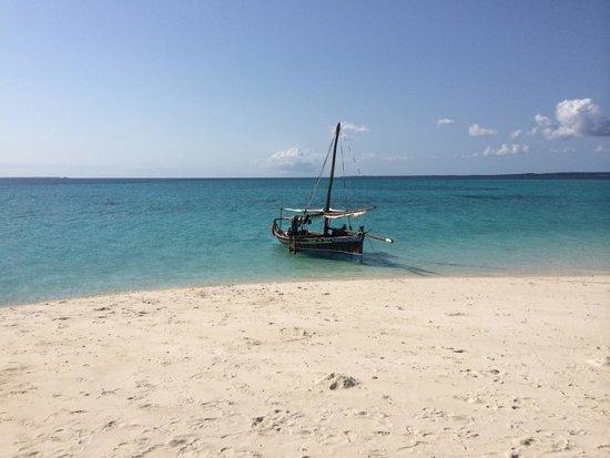 Shamba Kilole Eco Lodge : Barca per le gite