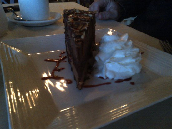 Rodd Crowbush Golf & Beach Resort: chocolate swirl cheesecake our favorite
