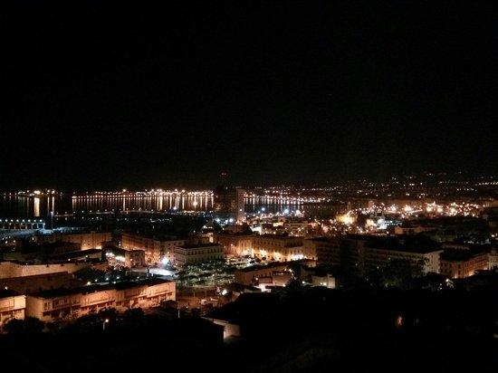 Parador de Melilla : Melilla de noche desde el Parador