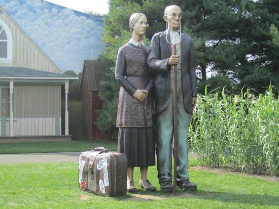Grounds For Sculpture : We gotta get a bigger house