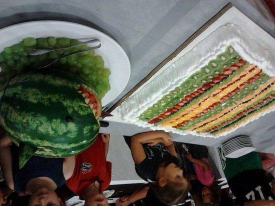 Diamante Hotel: torta di frutta