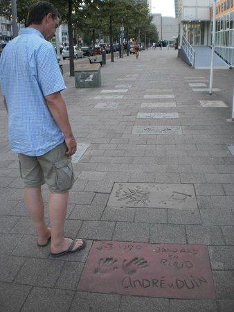 European Walk of Fame: street