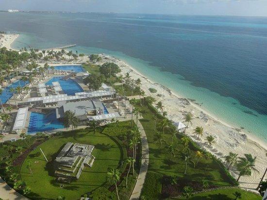 Hotel Riu Palace Peninsula: View from room 911