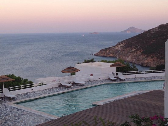 Patmos Paradise Hotel: Beatiful SunSet