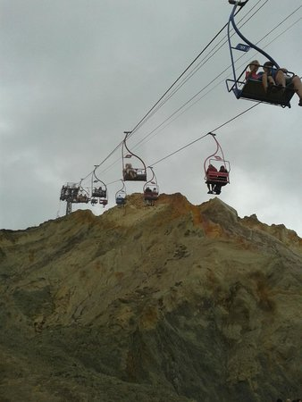 The Needles: The chair lift