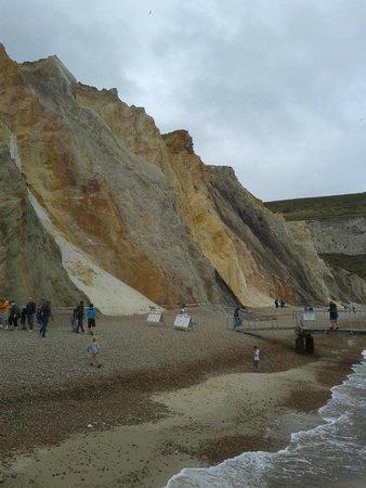 The Needles: The beach