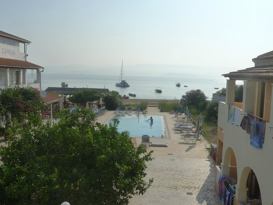 Sofia Beach Apartments: First thing in the morning and into the pool, had to be done!