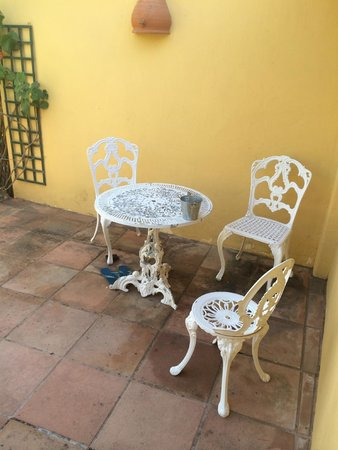 Ibiza Rocks House at Pikes Hotel: Our terrace furniture