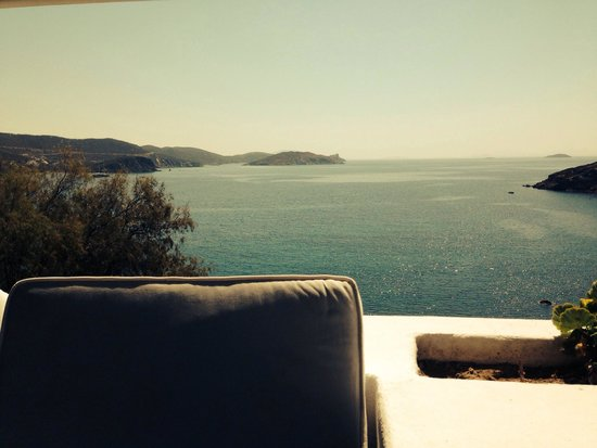 Patmos Paradise Hotel: Views from Prívate Terrace