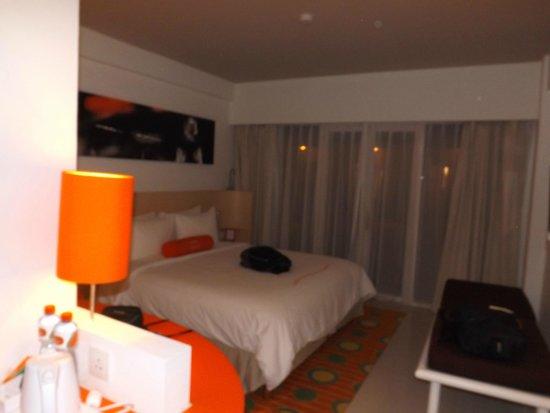 The Jimbaran View: Room at Night