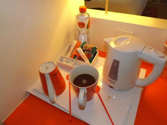 The Jimbaran View: Nice coffee in Room