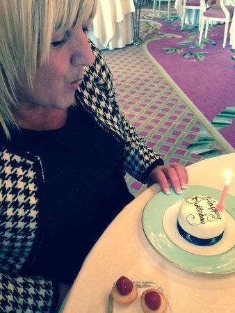The Ritz London: Birthday cake